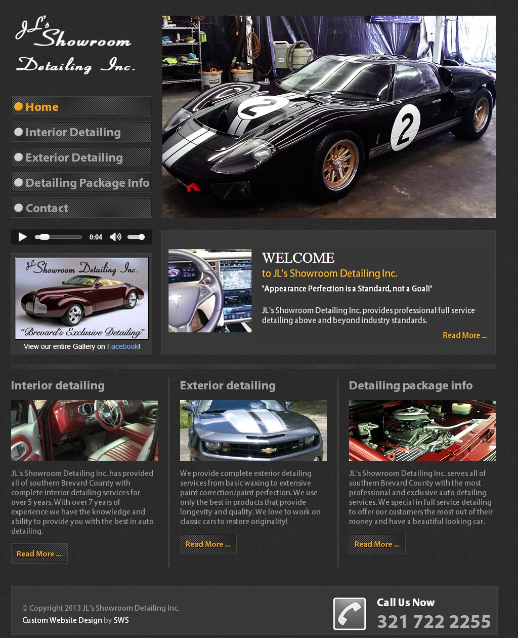 Auto Detailing Website Design | Arts - Arts